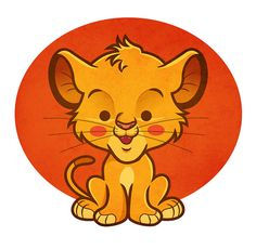 Simba Disney Kawaiicon by Jerrod Maruyama, via Flickr      There are too many cute things on his photostream! I can't take it! :)