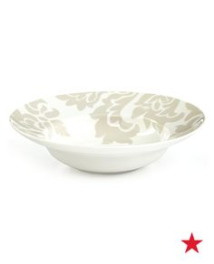 Dinner is served (with a side of style) — Martha Stewart Lisbon soup bowl