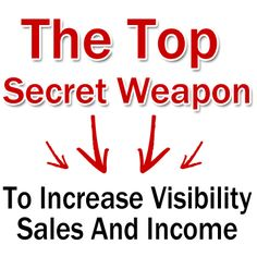 Use This Top Secret Weapon to Increase Visibility, Sales & Income « Karen Phelps Official home – Direct Selling Expert