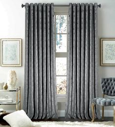 Shop #Imperial_Rooms for all the best #Velvet_Curtains. Enjoy Free Shipping on most stuff, even big stuff. #Curtains #Online #RingTop #chenille