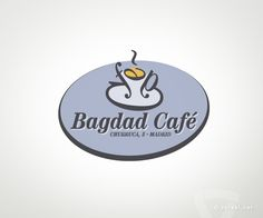 Bagdad Café - www.versal.net • Diseño Gráfico • Identidad Visual Corporativa • Publicidad • Diseño Páginas Web • Ilustración • Graphic Design • Corporate Identity • Advertising • Web Pages • Illustration • Logo