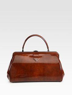 Prada - Spazzolato Frame Bag