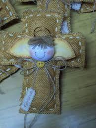 Resultado de imagen para souvenir en tela arpillera
