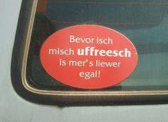 Dieser großartige Auto-Aufkleber zeigt, wie Hessen wirklich denken: | 24 Fotos, die Hessen verstehen, aber den Rest Deutschlands total verwirren