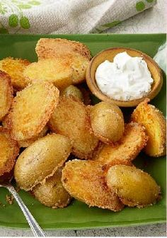 Crispy Parmesan Baked Potatoes – Meet your family's new favorite side dish recipe! It only takes 10 minutes to prepare these crispy, delicious spuds, perfectly paired with any entrée.