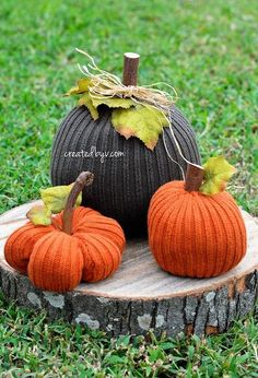 sweater pumpkins, crafts, halloween decorations, home decor, how to, outdoor living, painted furniture, repurposing upcycling, seasonal holiday decor