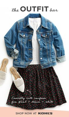 49c74f435 Get your laidback spring uniform at The Outfit Bar at Kohl's. Pair a white  shirt