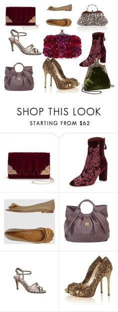 """THEATRICAL ROMANTIC"" by marindanchenk on Polyvore featuring мода, La Regale, Alexandre Birman, CAFèNOIR, Alexandra de Curtis, Alexander McQueen и House of Harlow 1960"