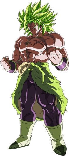 Dragon Ball Super: Broly(Without Background) by PixelZXGenius - anime Dragon Ball Z, Goku Dragon, Dragon Ball Image, Ssj2, Dragonball Super, Son Goku, Dbz Characters, Fan Art, Anime Characters