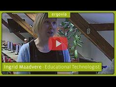Was macht ein Bildungstechnologe? Wie wird man Bildungstechnologe? Diese Fragen und noch weitere beantwortet Bildungstechnologin Ingrid Maadvere. #school #education #digital #digitalization #Estonia #Germany #ergovia #future #teacher #kids