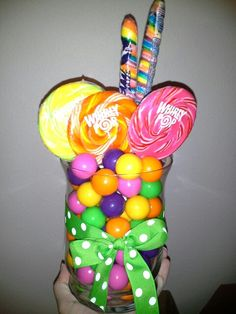 Candy Theme Party Center Pieces
