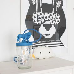 FOURLEON BLUE LAMP by Ona. Peek and Pack