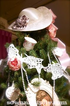 Downton Abby Christmas Tree Topper