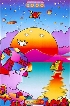 New Horizon 2000 : - Official Peter Max Site! Gallery Shows, Poster Shop & More! -