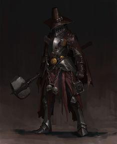 Art by Anton Fort Fantasy Witch, Fantasy Armor, Medieval Fantasy, Dark Fantasy, Fantasy Character Design, Character Design Inspiration, Character Concept, Character Art, Character Ideas