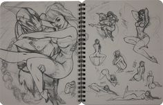 rough pencil j scott campbell   Comic books, movies, games blog everything related to fiction source ...