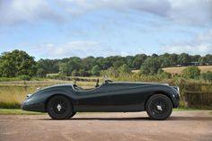 1951 Jaguar XK120 Alloy-bodied Roadster Registration no. XKJ 470 Chassis no. 671751 Engine no. E-5393-8 / US$ 97,000 - 110,000 - Hollister Hovey