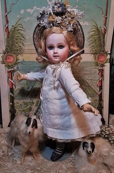 ~~~ Rare French 7 X Bisque Bebe by Jumeau ~~~ from whendreamscometrue on Ruby Lane