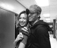 Enrique and his sister. Sweet.