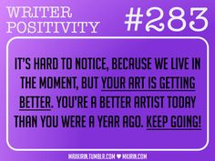 Good to keep in mind for both writing AND art.