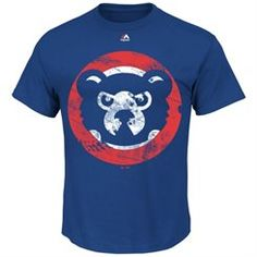 Majestic Chicago Cubs Cooperstown Collection Rooted in Nostalgia T-Shirt - Royal Blue