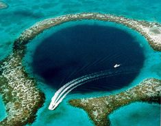 Belize bluehole