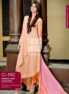 gul ahmed lawn 2014 - Google Search