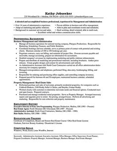 Property Manager Resumes Marketing Resume Will Be All About On How A Person Can Make The .