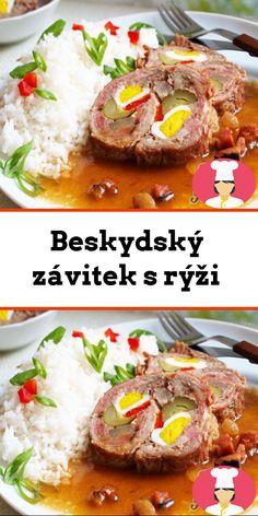Beskydský závitek s rýži Food, Ground Meat, Browning, Rice, Red Peppers, Cooking, Food Food, Essen, Meals