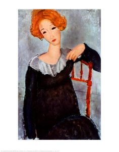 Modigliani, Woman with Red Hair