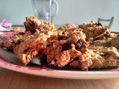 biscotti fiocchi d'avena e frutti rossi