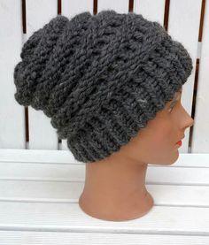 Loom knitting obręcz dziewiarska czapka hat