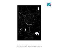 Maptu: biało na czarnym, nowe spojrzenie na mapy - PLN Design