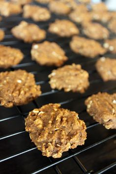 Pumpkin Oatmeal Cookies.