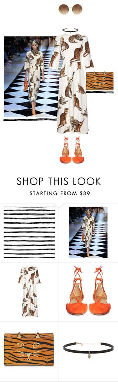 """""""Untitled #687"""" by krahmmm ❤ liked on Polyvore featuring Dolce&Gabbana, Aquazzura, Charlotte Olympia, Carbon & Hyde and Victoria Beckham"""