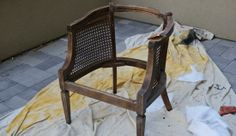 a perfect example for my cane back chair