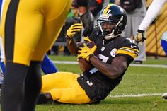 Cowboys vs. Steelers  - 35-30, Cowboys  -  November 13, 2016:    Pittsburgh Steelers wide receiver Eli Rogers (17) catches a pass from quarterback Ben Roethlisberger for a touchdown during the first half of an NFL football game against the Dallas Cowboys in Pittsburgh, Sunday, Nov. 13, 2016.