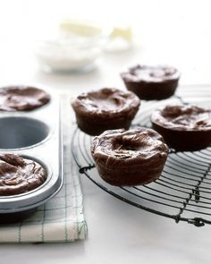 Chocolate Truffle Cakes - Martha Stewart Recipes