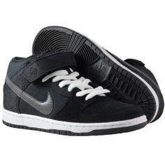 nouvelle collection printemps été 2014 baskets Nike - Dunk Mid Pro SB Shoes  Black/Charred