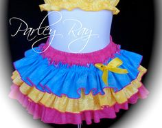 Heres one for Dad! This is the cutest little Daddys Girl outfit ever! ***This includes the adorable Realtree All Around Ruffle Skirt with the matching shirt/bodysuit.*** (headband & bracelet sold separate)  The fabric is Taffeta. So it is very soft & Silky and really Poofs!  ***This comes with Orange edges. See other listing for the Pink edges.***  ***Get the matching headband here- https://www.etsy.com/listing/95734965/order-upgrade-parley-ray-baby-girls?  ***Get the matching bracelet here…