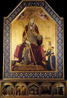 The St. Louis of Toulouse, his brother Robert of Anjou is crowned King of…