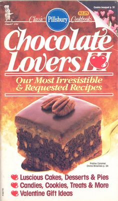 Classic Pillsbury Cookbooks: Chocolate Lovers III -- 1988