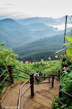 leading down from adams peak, sri lanka steps leading down from Adam's Peak, Sri Lanka ()steps leading down from Adam's Peak, Sri Lanka ()