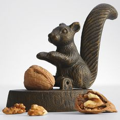 Nutcrackers on pinterest squirrels brazil nut and teak - Squirrel nut crackers ...