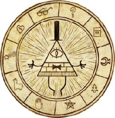 Take a trip to Gravity Falls and join Dipper, Mabel, and Grunkle Stan on their adventure to discover the mysterious and unknown. In association with the Grav. Gravity Falls Bill Cipher, Libro Gravity Falls, Gravity Falls Journal, Gravity Falls Art, Gravity Falls Poster, Gravity Falls Characters, Illuminati, Dipper Et Mabel, Cipher Wheel