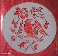 Вырезание птицы Бумага фото 5