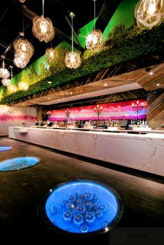 Venue: FLUXX / Location: San Diego, CA / Design: Davis Ink / www.davisinkltd.com