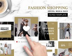 """Check out new work on my @Behance portfolio: """"Instagram Template 