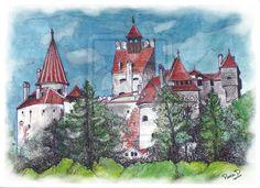 Castelul Bran by ~globalsinner on deviantART