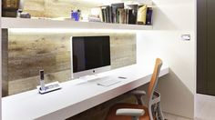 Wall desks aren't always an option for large apartments, and many made for the task can be really expensive despite mostly being just a block of wood you attach to your wall. Description from minimaldesks.com. I searched for this on bing.com/images